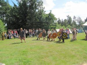 Mittelaltermarkt nebst Heerlagerey in Tydal - August 2017